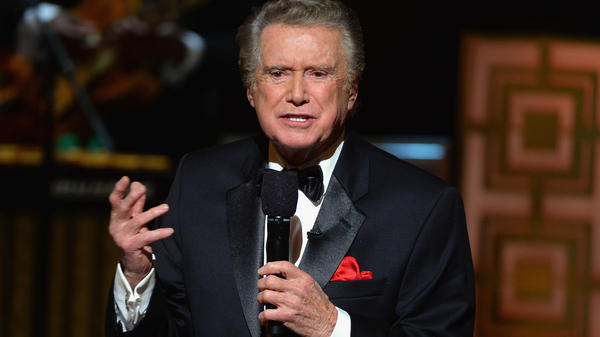 Regis Philbin speaks onstage at Spike TV's <em>Don Rickles: One Night Only</em> on May 6, 2014 in New York City. Philbin was on television for more than half a century.