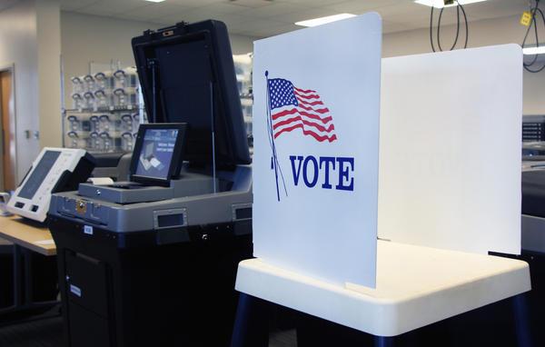 Shawnee County voting machines in 2018.