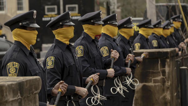 HBO's eerily prescient <em>Watchmen </em>received 26 Emmy nominations on Tuesday, more than any other program.