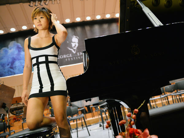 Pianist Yuja Wang (pictured), violinist Leonidas Kavakos and several prominent academics have been accused this week of making anti-Black comments.