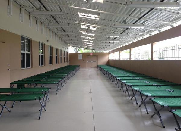 In the past, evacuation shelters at capacity often provided little space for evacuees. With COVID-19, emergency managers are hoping to provide more space.