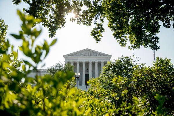 In this July 8, 2020, file photo the Supreme Court is shown in Washington, D.C. Oregon Attorney General Ellen Rosenblum is appealing a decision regarding an anti-gerrymandering initiative petition to the nation's high court.
