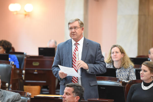 State Rep. Bob Cupp (R-Lima) was elected the Speaker of the Ohio House following the removal of Larry Householder.