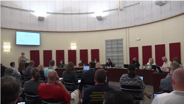 The Dunlap School Board meets July 29, 2020.