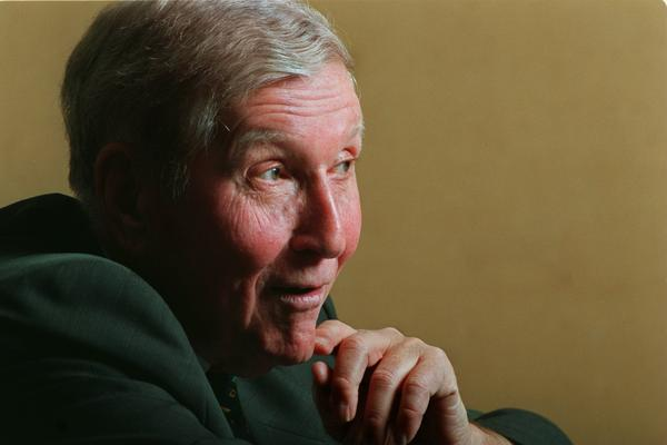 """""""It's not my mission to be popular,"""" said media mogul Sumner Redstone. He acquired Viacom in 1987."""