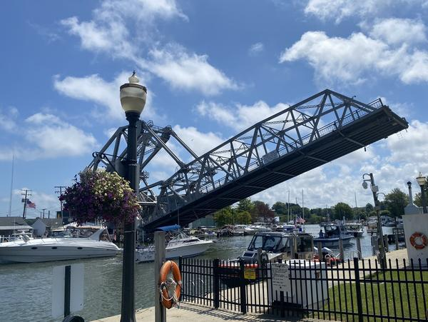 A lift bridge in the harbor commercial district in Ashtabula, Ohio. New political leaders in the county hope a younger generation of voters will help decide the 2020 presidential election.