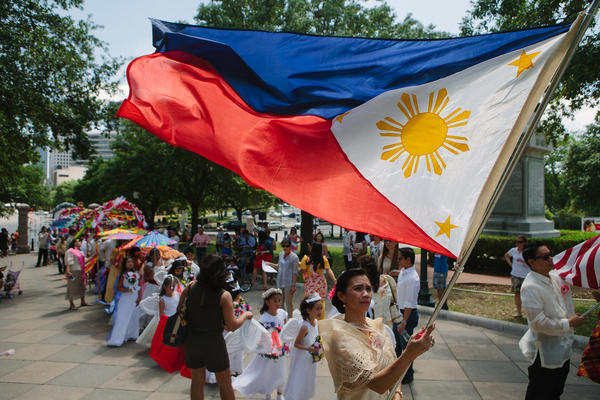 The Filipino community celebrates during the Flores de Mayo festival in Austin in 2014. Asians in Texas have reported a number of incidents of harassment since the pandemic started.