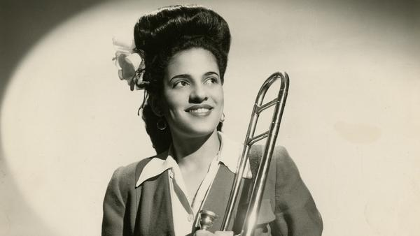 Helen Jones Woods, seen here during her time in the International Sweethearts of Rhythm.