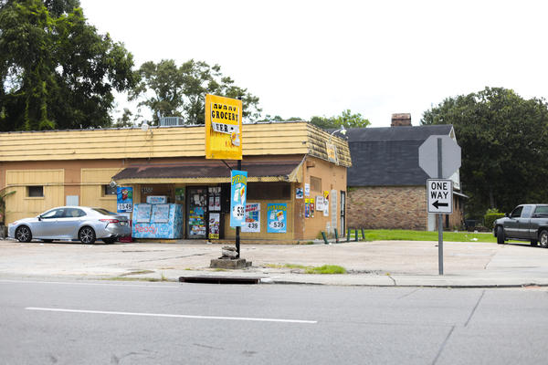 Adam Market on N. Acadian Thruway in Baton Rouge, where Dillion Cannon was arrested.
