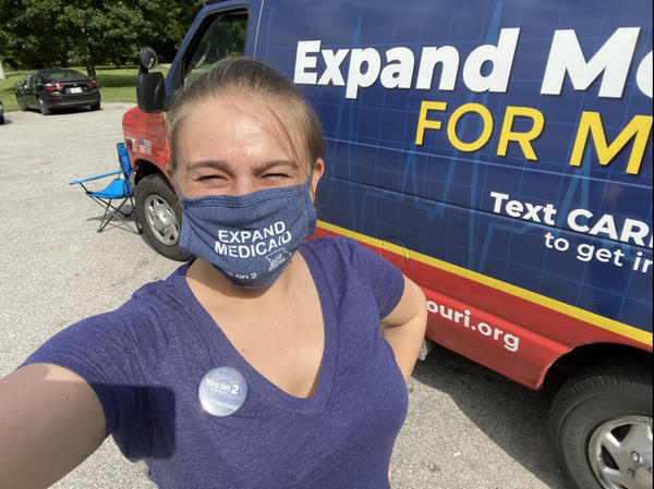 Genevieve Williams, who campaigned for Medicaid expansion in rural Missouri, says many voter have reconsidered their views on Medicaid during the pandemic.