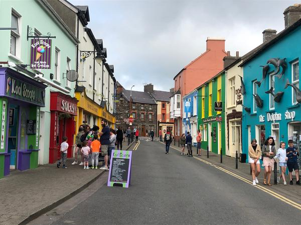 A street in Dingle, Ireland.
