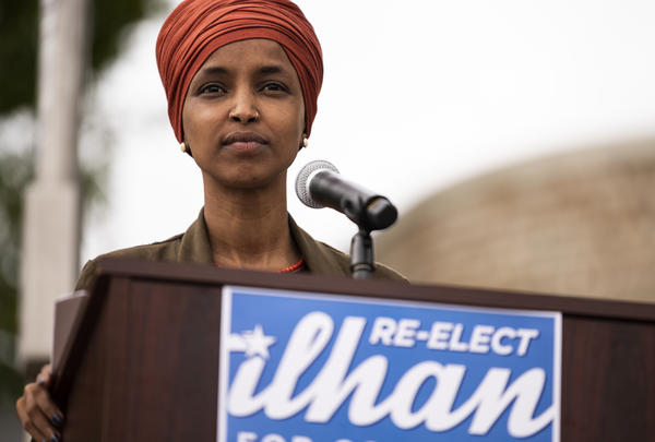 Rep. Ilhan Omar, D-Minn., is hoping to retain her seat representing Minnesota's 5th Congressional District.