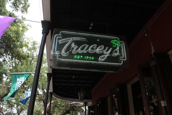 Tracey's on Magazine Street in New Orleans. April 28, 2017.