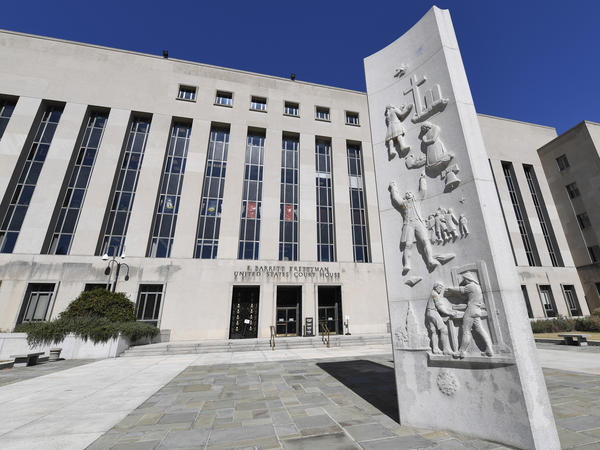 The E. Barrett Prettyman U.S. Courthouse is home to the secret court that oversees surveillance on Americans. An ex-FBI lawyer has been charged in connection with filings to the court.