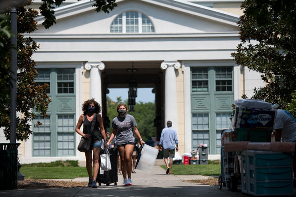 As some campuses welcome students back, administrators are weighing their options to keep the community safe. Some are betting on frequent, regular testing.