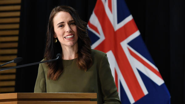 """""""I don't think there's any comparison between New Zealand's current cluster and the tens of thousands of cases that are being seen daily in the United States,"""" New Zealand Prime Minister Jacinda Ardern said on Tuesday."""