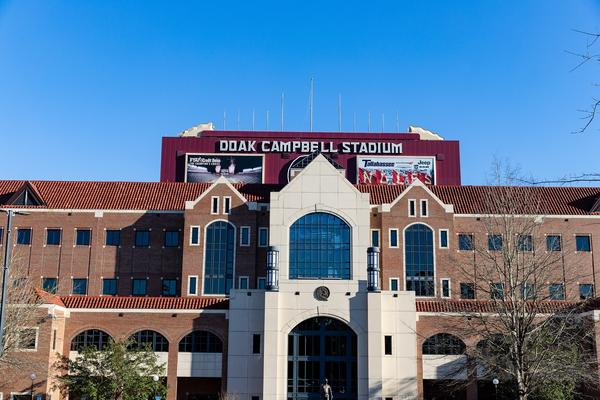 Tallahassee, FL / USA - February 15, 2020: Doak Campbell Stadium, home of Florida State University Football