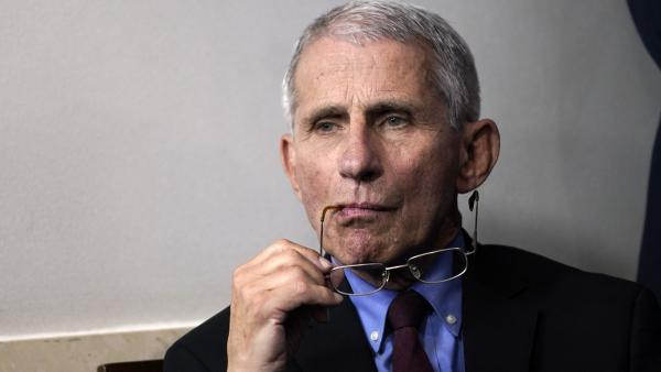 Dr. Anthony Fauci is resting at home after undergoing surgery Thursday to remove a polyp on his vocal cord, according to the National Institute of Allergy and Infectious Diseases.