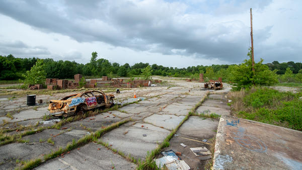 The former Chattahoochee Brick Company in Atlanta used forced convict labor to churn out hundreds of thousands of bricks a day at the turn of the 20th century. Racial justice advocates want to turn the site into a memorial.