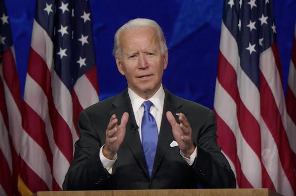 Joe Biden accepted the Democratic Party's nomination for president on Thursday.