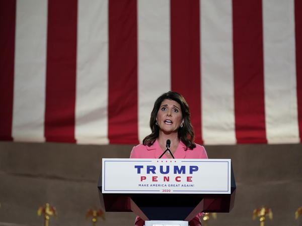 Nikki Haley, the former U.S. ambassador to the United Nations, said the Democratic ticket's vision for the United States was one of socialism.
