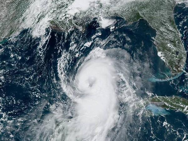 Hurricane Laura formed early Tuesday morning and has shown signs of becoming better organized as it crosses the Gulf of Mexico. Laura is forecast to make landfall along the Gulf Coast as a Category 4 storm.