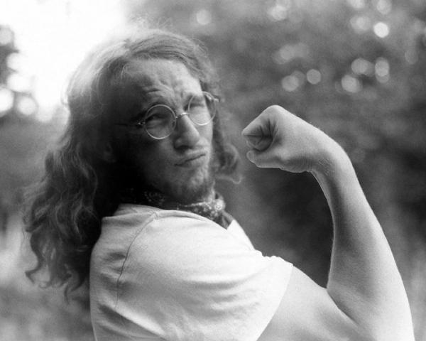 A young Lee Meier poses for a portrait in this undated photo. Meier helped organize the Vortex 1 festival as a positive way of pushing back against a planned appearance by President Richard Nixon in Portland, Ore., in the summer of 1970.
