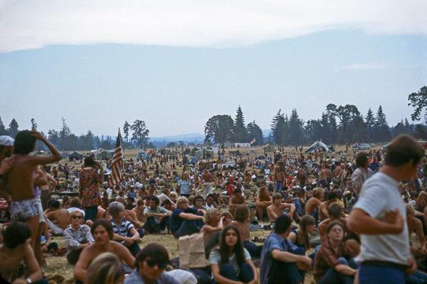 Estimates put the crowd at the Vortex 1 festival at somewhere between 50,000 and 100,000 people of the course of its five days.