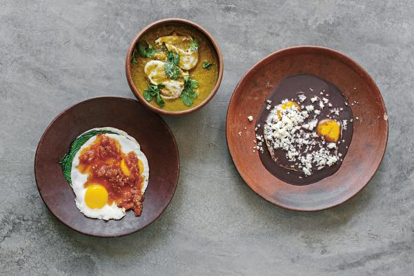 "Enrique Olvera's flagship eatery, Pujol, has repeatedly made lists of the best restaurants in the world. ""The inspiration in our restaurant is home cooking and simple cooking,"" he says. ""We've always been very connected to that. Whenever we want to travel for inspiration, we go to small towns in Mexico and visit people's homes."""