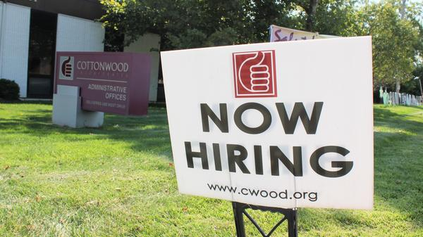 Cottonwood in Lawrence, Kansas, and similar organizations who help people with intellectual and physical disabilities struggle to attract workers for the wages they can pay.