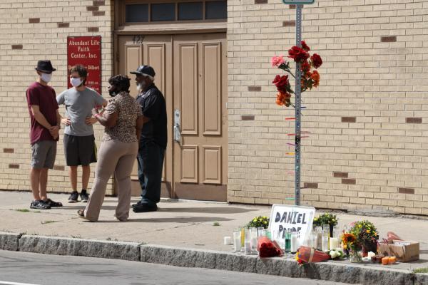 A memorial for Daniel Prude