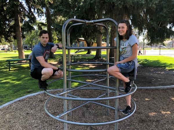Christian and Chelsea are both students at BYU-Idaho.