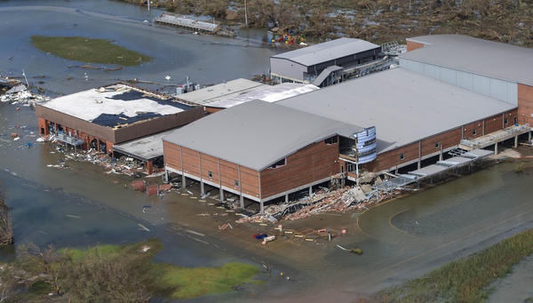 South Cameron High School in Grand Chenier, Louisiana on Thursday August 27, 2020.