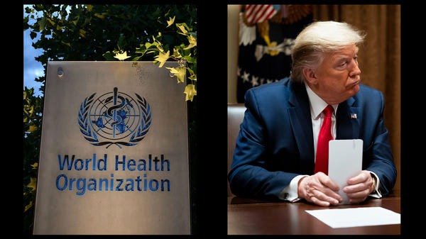 In interviews with Bob Woodward in February and March, President Trump said he recognized the severity of the coronavirus — even though he publicly criticized the World Health Organization for not alerting him to the degree of threat.