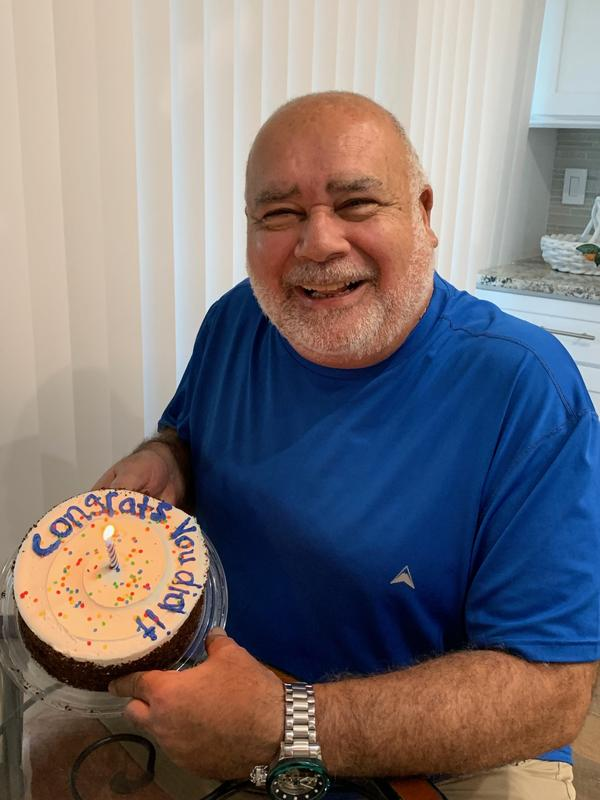 Richard Yodice is one of the thousands of 9/11 first responders living in Florida. In August of last year, he celebrated his final radiation treatment for prostate cancer.