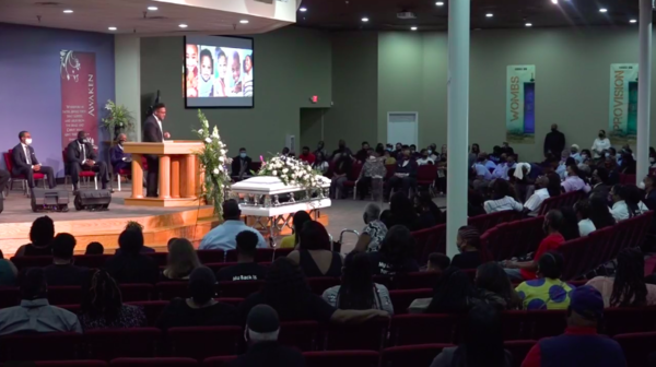 Trayford Pellerin's funeral took place on Sept. 10 at the Philadelphia Christian Church in Lafayette.