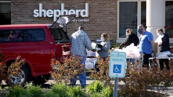 Since the pandemic began, Shepherd Community Center has added a weekly food distribution to help families who live in nearby food deserts.