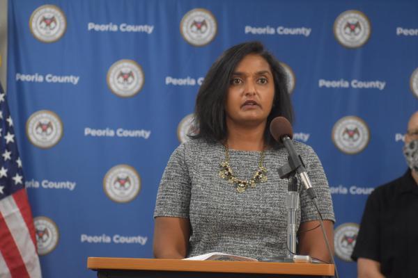 Peoria City/County Health Department Administrator Monica Hendrickson