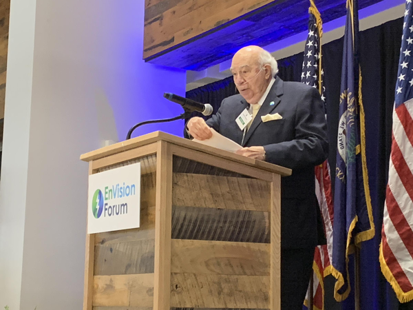 Bob Murray speaking at an event in October 2019.