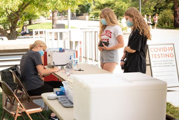 Illinois State University offers free COVID-19 testing to students, including those without symptoms.