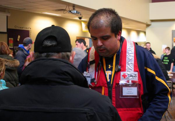 Dan Luthi of Washington is a recipient of a 2020 Governor's Volunteer Service Award for his work with the American Red Cross.