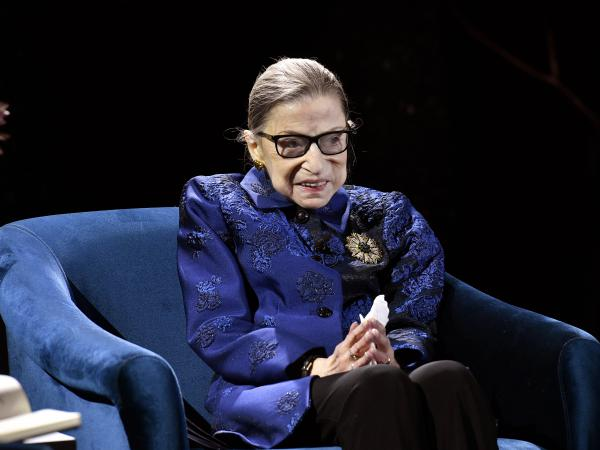 Ruth Bader Ginsburg died on Friday at the age of 87.