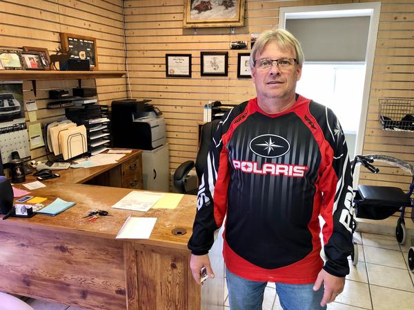 Greg Scott was born and raised in Lander, Wyoming. He's excited about the town's growth and what it means for the economy of the place.