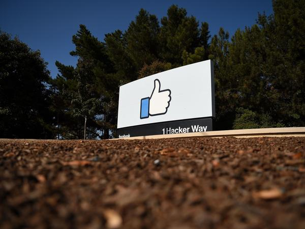 Facebook says the fake accounts it removed focused mainly on Southeast Asia. But they also included some content about the U.S. election, which did not gain a large following.
