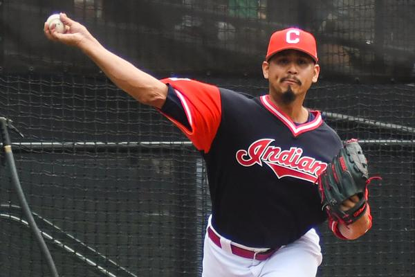 Carlos Carrasco will be part of a dominant pitching staff heading into the 2020 MLB postseason.