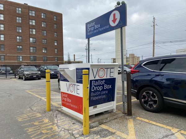 Cuyahoga County Ballot Drop Box