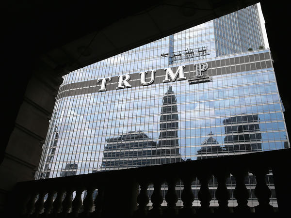 "<em>Forbes</em> journalist Dan Alexander writes about the president's potential conflicts of interest in <em>White House, Inc</em>. ""You can't have a blind trust and have a building that says 'Trump Tower' on the outside of [it],"" Alexander says. ""How blind is that?"""