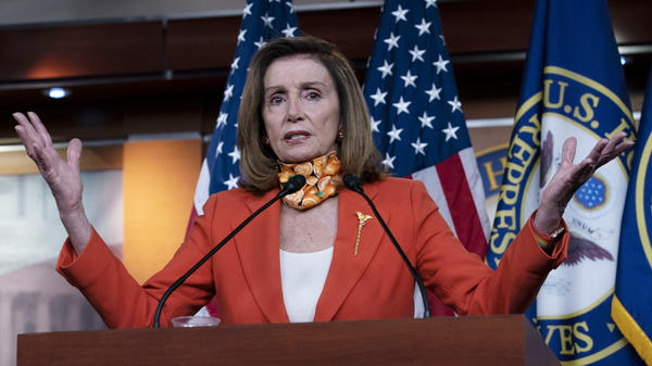 House Speaker Nancy Pelosi is warning Democrats of an exceedingly rare scenario where the House may need to decide the presidential election in January.