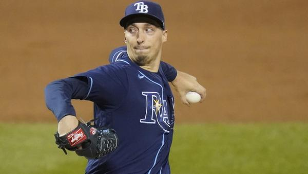 Blake Snell is scheduled to start Game 1 of the AL first round playoff series for the Tampa Bay Rays Tuesday against the Toronto Blue Jays.