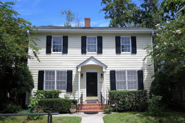 Elizabeth Boineau's home in Charleston, South Carolina, which is slated to be torn down. (Courtesy Elizabeth Boineau)